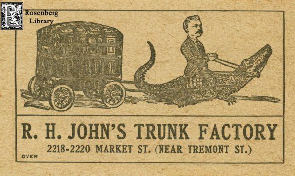 R. H. John Trunk Factory