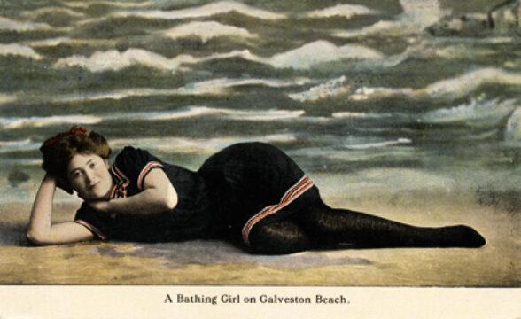 Rosenberg Library Displays Vintage Bathing Suit