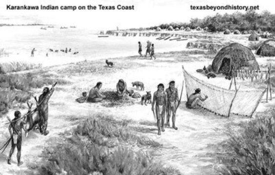 Galveston's First Settlers: The Karankawa Indians