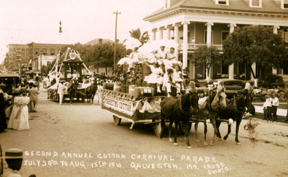 Galveston's Cotton Carnival