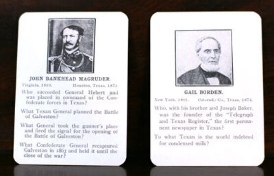 Texas Heroes: An Instructive Game