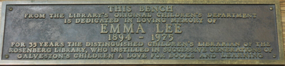 The Legacy of Emma Lee