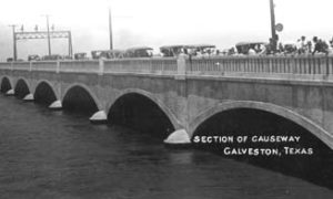 G-18221FF3-9 Section of Causeway, Galveston, Texas