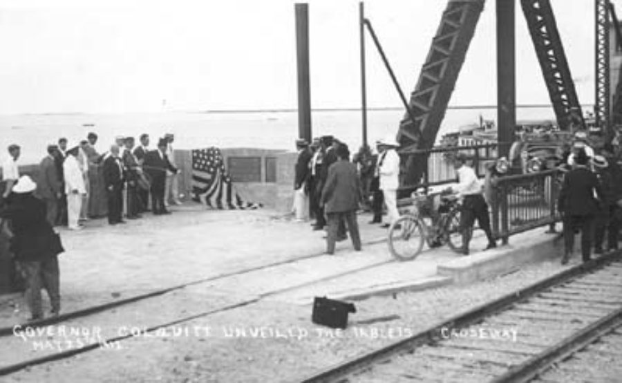G-18221FF3-2 Governor Colquitt Unveiled the Tablets.  Causeway May 25th 1912.
