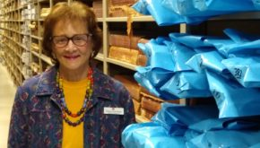 Rosenberg Library Honors Diane Donohoe, Special Collections Volunteer, for 19 Years of Service